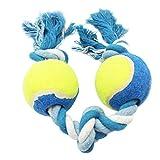 Milopon Hundespielzeug Haustier Baumwolle Seil Kauen Spielzeug Geflochten Baumwolle Seil Knoten Ball Pet Haustier Hund Zahnreinigung Ball