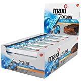 MaxiNutrition Cyclone Strength and Power Bars - Chocolate Orange, 60 g, Box of 12