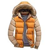 Leichte Daunenjacke Herren Briskorry Männer Ultraleichte Winterjacke Steppjacke Zipper Wintermantel Puff Jacke Wetterschutzjacke übergangsjacke Outwear