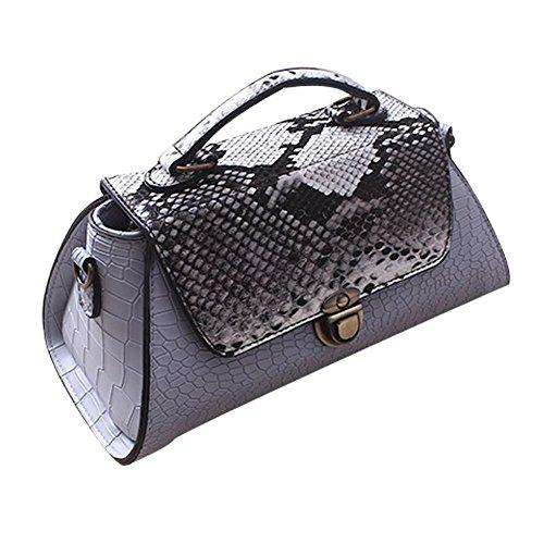 yaagle-women-pu-leather-snakeskin-crocodile-pattern-messenger-shoulder-bag
