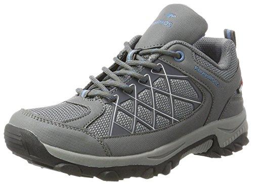 KangaROOS Loop, Sneaker Unisex-Adulto Grau (Steel Grey/Faded Blue)