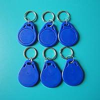 Colore blu impermeabile in ABS MIFARE Classic® 1K portachiavi RFID