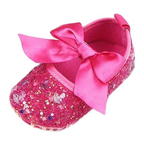 Leap Frog Diy Diamond Toddler Shoes, Accessoires pour chaussures bébé fille - rouge - rose, 0-6 mois