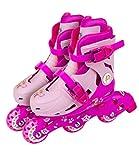 Rollers évolutifs 2 en 1 Pat Patrouille - Position patins ou rollers par système de...