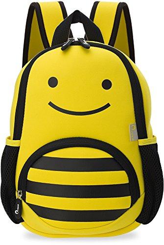 kleiner Kinder- Rucksack Wasserdicht Kindergartentasche Ausflug Freizeittasche Tier – Motiv Biene