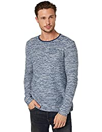TOM TAILOR Messieurs Pull-over 100 % coton