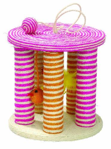 katzeninfo24.de Bobby GRJAZZ Kratzspielzeug Jazz, rosa