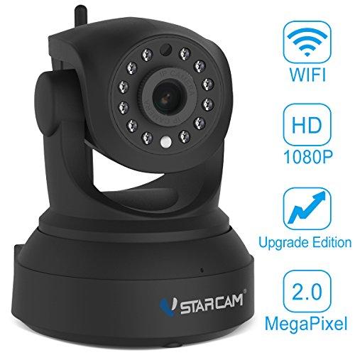 Vstarcam-C24S-HD-1080P-IP-Cmara-de-Vigilancia-WiFi-Cmara-de-Seguridad-Interior-P2P-con-Micrfono-y-Vision-Nocturna-Deteccin-de-Movimientos-para-Hijos-y-Mascotas