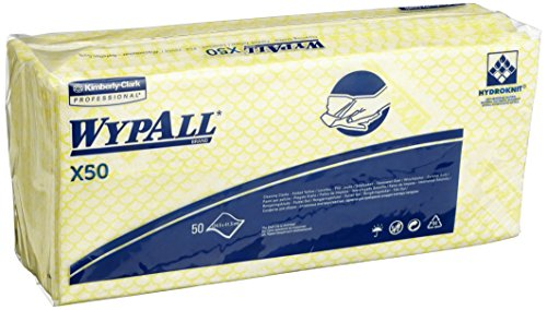 wypall-x50-cleaning-cloths-absorbent-strong-non-woven-tear-resistant-yellow-ref-7443-pack-of-50