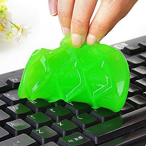 Tastatur Gel-Reiniger, FNKDOR Universal Weich Kristall Gel Staub-Reiniger für Tastaturen, Zufällige Farbe, (Staub Remover)