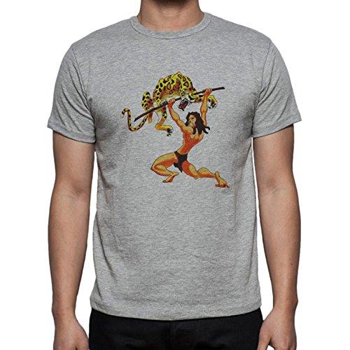 If Tarzan Were A Gentelmen Herren T-Shirt Grau