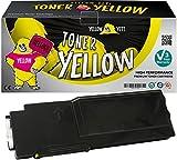 Yellow Yeti 593-BBBR (4000 Seiten) Gelb Premium Toner kompatibel für Dell C2660dn C2665dn C2665dnf [3 Jahre Garantie]