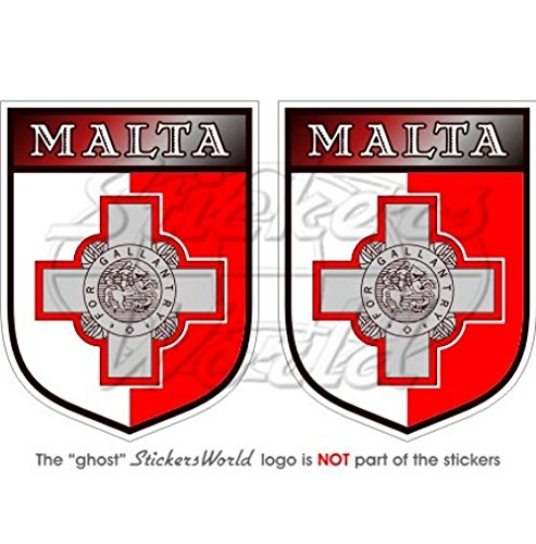 malta-malteser-shield-75-mm-76-cm-bumper-sticker-aufkleber-vinyl-x2
