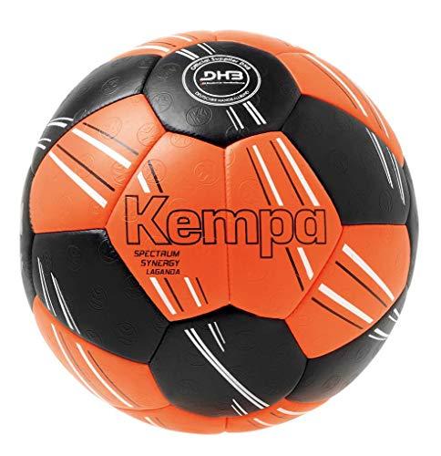 Kempa Spectrum Synergy Primo Handball Größe 2 Fluo orange-schwarz Fluo orange/schwarz, Größe 2