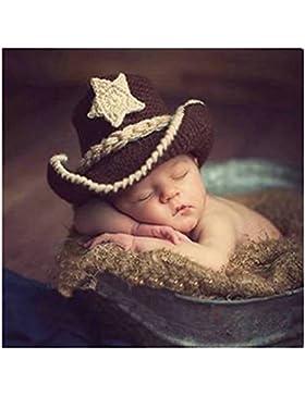 Neugeborene junge mädchen Handarbeit gehäkelte Baby kostüm fotoshooting Hut Mütze