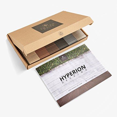 Komposit-Bodenbelag-Muster-Set–enthält 6Farben | von Duratrac Decking UK