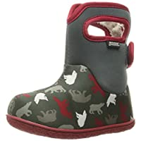 BOGS Unisex-Child Baby Classic Polar Bear Winter