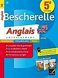Bescherelle Anglais 5e - Cahier de révisions