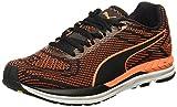 Puma Men's Speed 600 S Ignite Puma Black-Shocking Orange Running Shoes - 7 UK/India (40.5 EU)(18908708)