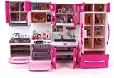 Best Barbie Play Kitchens - Techhark Little Chef Kids Kitchen Play Set Review