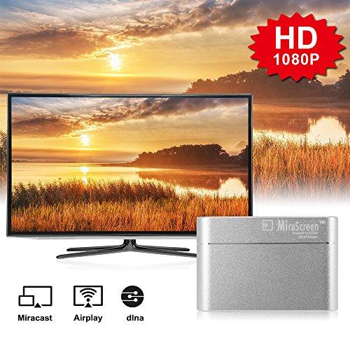 XCSOURCE Full HD 1080P MiraScreen Display Dongle HDMI VGA Video Converter Miracast DLNA Airplay Mirroring Display Dongle for iPhone 7  7plus AH333