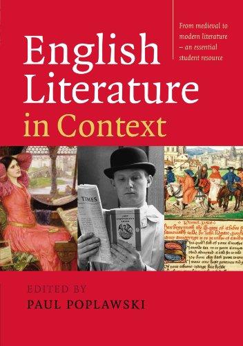 English Literature in Context por Poplawski