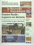 NOUVELLE REPUBLIQUE (LA) [No 20599] du 18/07/2012 - GENERIQUES ET TIERS PAYANT AU COEUR DU PORTE-MONNAIE - EVASION FISCALE - LA GUERRE EST DECLAREE - LE CHEVAL DANS LA VIGNE A BOURGUEIL - CHENONCEAU - DANS LES PAS DU CHEF JARDINIER - SYNTHRON - LE COURANT PASSE MAL - LA VOGUE DES SPORTS DE PLAGE - LES SPORTS - FOOT...