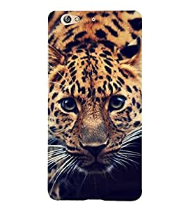 FUSON Leopard Eady To Attack 3D Hard Polycarbonate Designer Back Case Cover for Gionee S6