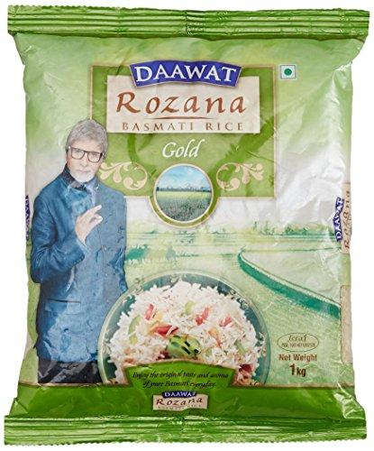 Daawat Rozana Gold Basmati Rice, 1kg