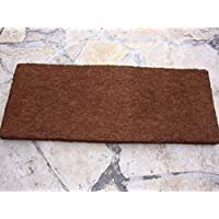 xaxim placa algodón Helecho placa terrarios posterior 50x 20x 1,5cm (suave)