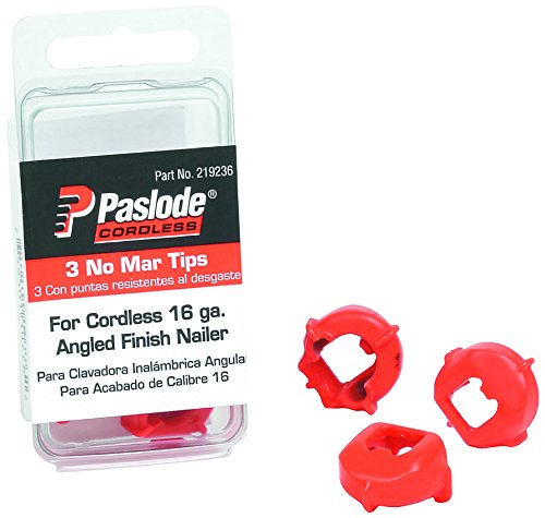 Paslode 219236 No Mar Tips für Streifennagler, 3 Stück