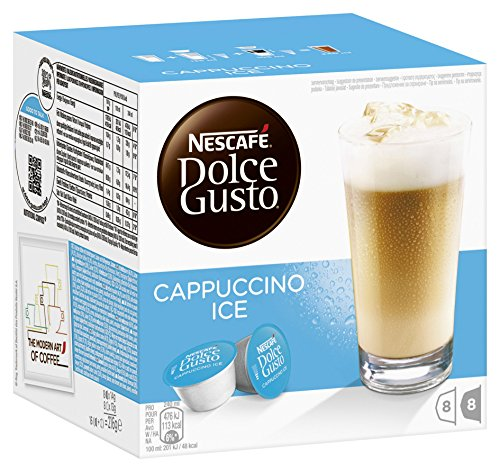 Nescafé Dolce Gusto Cappuccino Ice, 3er Pack (48 Kapseln)