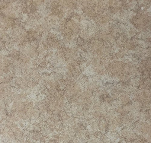 PVC Vinyl-Bodenbelag | Muster | in Travertin-Stein-Optik | CV PVC-Belag in verschiedenen Maßen verfügbar | CV-Boden wird in benötigter Größe als Meterware geliefert | rutschhemmend & robust | Hergestellt in Belgien - Stein-boden-muster