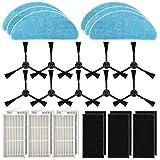 POWER-XWT Repuestos Accesorios Filtros Velcro de Tela HEPA para ILIFE V3s Pro V3s V5
