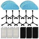 POWER-XWT Pièces de rechange Accessoires Filtres Velcro HEPA en tissu pour ILIFE V3...