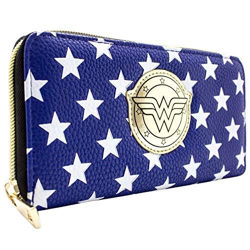 Cartera DC Wonder Woman Disfraz Estrellas Azul
