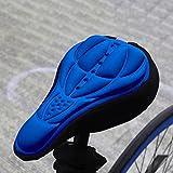 Radfahren Bike 3D Silikon Gel Pad Sitz Sattel, weiche Kissen für Outdoor Mountain Bike