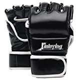 Xinluying Gants MMA Homme Gants Sac Frappe Muay Thai Boxe Grappling Combat...