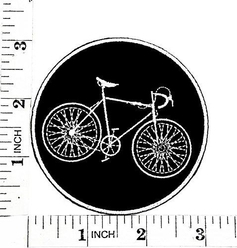 Noir de vélo BMX Montagne Vélo de route Fonction de dessin animé film Patch Main brodée thermocollant et coudre Symbole Veste T-shirt patches Applique Accessoires