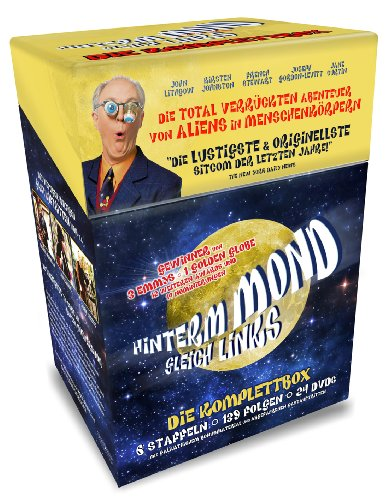 Hinterm Mond gleich Links - Die Komplettbox mit 139 Folgen auf 24 DVDs (Cigarette Box mit Episodenguide und Puzzle-Poster aus den Karton-Sleeves / limitiert) -
