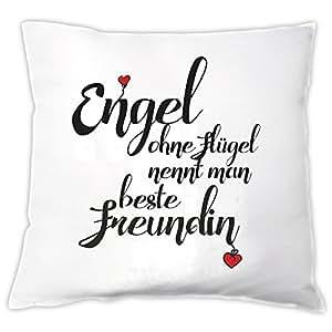 39 coussin ange sans ailes qu 39 on appelle meilleur ami coussin coussin d co id e de cadeau. Black Bedroom Furniture Sets. Home Design Ideas