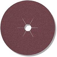 Klingspor 65708 CS 561 - Disco de fibra (100 x 16 mm, 25 unidades, grano 16)