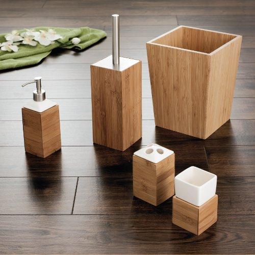 Ridder WC-Bürste mit Bürstenhalter aus Bambus - 2