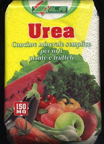 Harnstoff Mineraldünger für orti Pflanzen und Obstgärten von 4 kg.