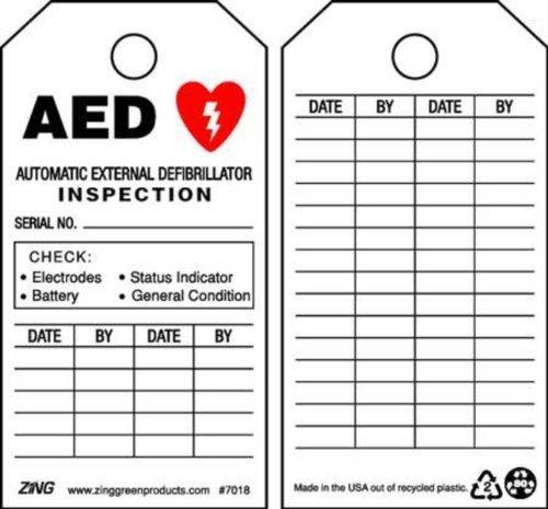 Automatische Defibrillator (Zing Green Products 7018 Eco Safety