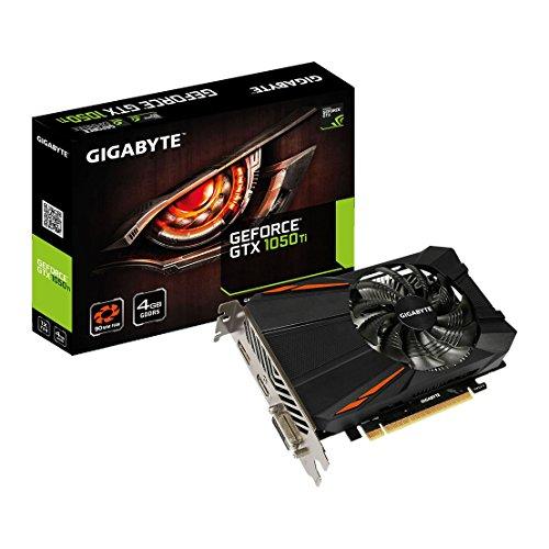 Gigabyte GeForce GTX 1050 Ti GV-N105TD5-4GD 4GB Grafikkarte schwarz