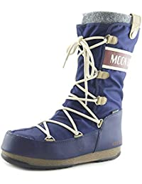 Moon Boot W.E. Monaco Felt WP - Bottes - bleu Pointures 36 2017