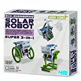Make Your Own 3-in-1 Mini Solar Robot - How It Works Kit - New for 2015 Educational - Educational Science Present Gift Ideal For Christmas Xmas Stocking Fillers Age 8+ Children Kids Boys Girls