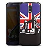 DeinDesign Motorola Moto G4 Plus Hülle Case Handyhülle London Tower Bridge Grossbritannien