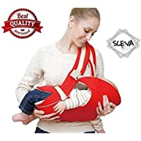 Baby Carrier with Comfortable Head Support & Buckle Straps by Sceva